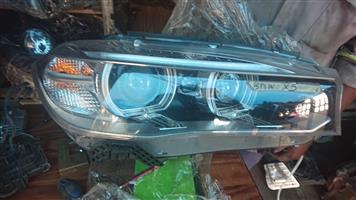 BMW X5 right side headlight