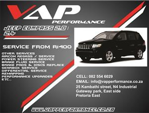 Jeep Compass Service (Major and minor )