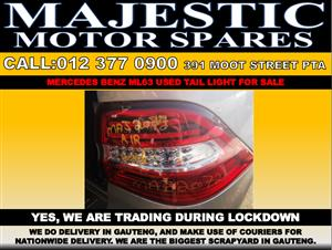 Mercedes benz used ml63 tail lights for sale