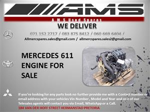 MERCEDES 611 ENGINE