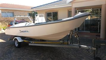 Infanta boat 5.2,with about 20 hours on 2x Suzuki 2 strokes