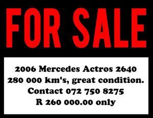 MERCEDES ARCTOS 2640 for sale