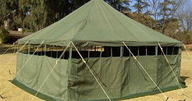 5m x5m Army Canvas Tent