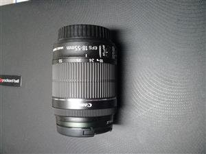 Canon 18-55 f3.5-5.6 IS STM Lense