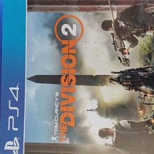 PS4 The Division 1 and 2