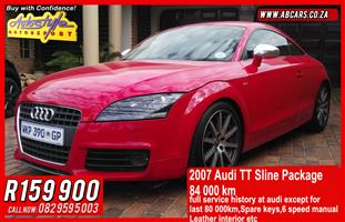 2007 Audi TT coupe TT RS QUATTRO COUPE STRONIC