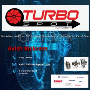 TURBO SPOT - Turbocharger Reconditioning, Sales, Services