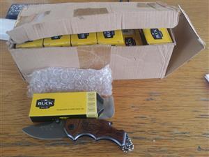 BUCK KNIFES - BOXED NEW ( 1box x24 Knives R1200)