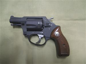 Charter Arms, .38spl light weight 5 shot snub nose, very good condition. Revolver