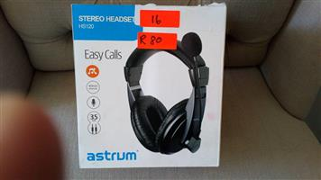 Stereo head set for sale