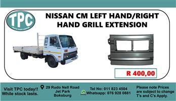 Nissan CM Right Hand GRill Extention - For Sale at TPC
