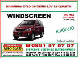 Windscreens and Motor Glass Special Prices at Commercial Auto Glass