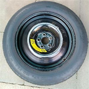 "Mercedes ml 18"" biscuit sparewheel"