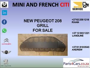 peugeot 208 grill for sale