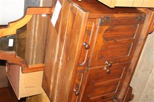 Brown side board with mirror S037275A #Rosettenvillepawnshop