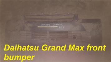 Daihatsu front and rear bumpers for sale.