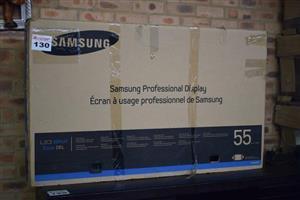 Samsung professional display LED tv