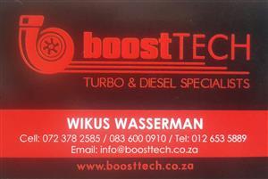 Boosttech Turbos Price List