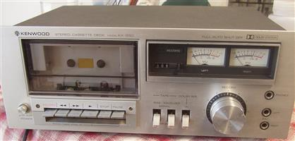 KENWOOD KX-550 Stereo Cassette Deck - in excellent condition