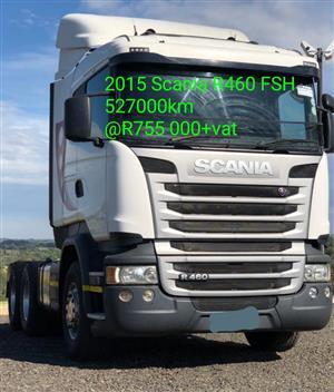 2015 Scania R460
