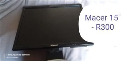 15'' Macer monitor
