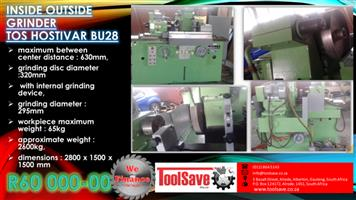 TOS Hostivar BU28 Inside Outside Grinder