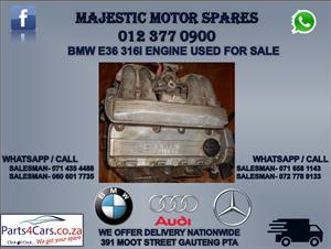Bmw e36 316i used engine for sale