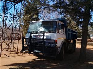 10m3 tipper truck