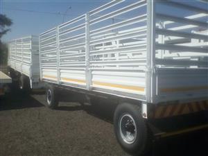 Cattle Drawbar Trailer