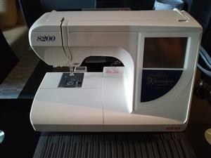 Elna 8200 Xperience Embroidery Machine