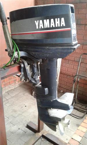 30 hp yamaha outboard short shaft elec start good condition