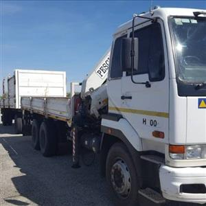 Transport and Crane Truck for hire