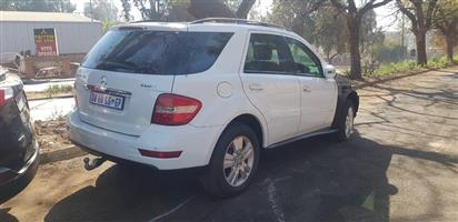 2011 MERCEDES ML 350 CDI 4 MATIC STRIPPING FOR SPARES