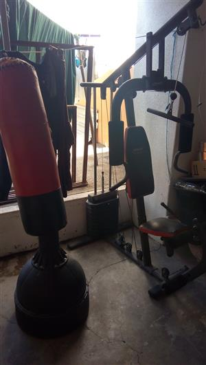 Urgent sale home gym set.
