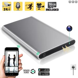 PowerBank Spy Camera with Wifi - Spy Shop Toti