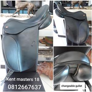 Kent and Masters Dressage saddle 18