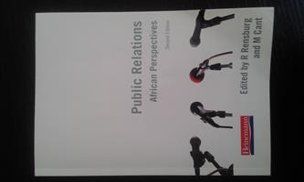 Public Relations African Perspectives - 2nd edition - unisa textbook