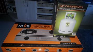 New Gas burner and tank for sale