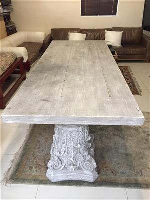 Unique Large Bali Table - 10 Seater table