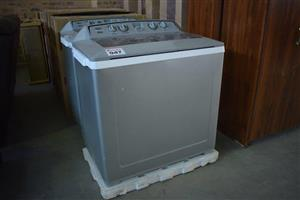 Grey top loader twintub for sale