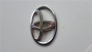 Large Toyota Badge Emblem