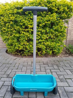 Gardena fertilizer spreader
