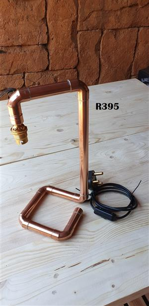 Designer Copper Table Lamp