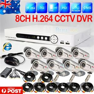 8 Channel HD-DVR/ CCTV Kit  The 8 Channel CCTV Kit offers high quality video at an affordable price