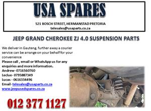 JEEP GRAND CHEROKEE ZJ 4.0 SUSPENSION PARTS FOR SALE.