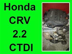 Honda CRV 2.2 CTDI engine for sale.