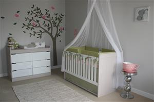 New baby, toddler, nusery and bedroom furniture