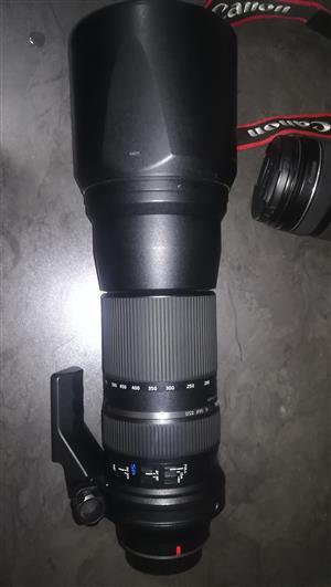 Tamron 150-600mm SP VC Canon mount lens
