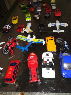 264 various Toy Cars For Sale.