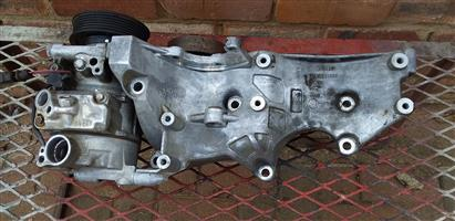 Audi a4 aircon pump with bracket